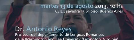 [Charla] Castro, Chávez y Bush:  persuasión y voz en el discurso político
