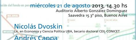[Charla debate] Sistema previsional argentino: entre el 82% móvil y la protección universal