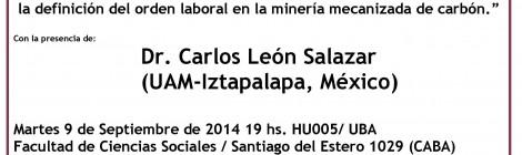 Charla/debate Management empresarial y ethos minero