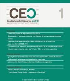 [Revista] Cuadernos de Economía Crítica N°1