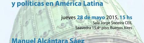 [Conversación] Proyecto sobre élites parlamentarias y políticas en América latina / Manuel Alcántara Sáez