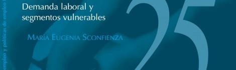 [Empleo, desempleo y políticas de empleo] N°25 Demanda laboral y segmentos vulnerables / María Eugenia Sconfienza