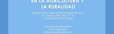[Seminario] Familia, trabajo y migraciones en la agricultura y la ruralidad