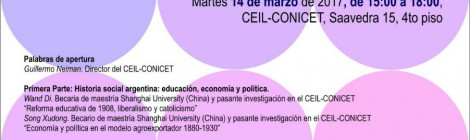 [Taller] Ciencias sociales, globalización y sociedad: Argentina y China