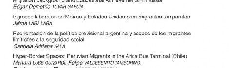 [Artículo] Reorientación de la política previsional argentina y acceso de los migrantes limítrofes a la seguridad social / Gabriela Sala