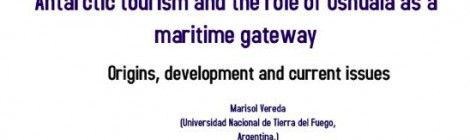 [Charla] Antarctic tourism and the role of Ushuaia as a maritime gateway