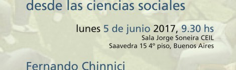 [Workshop] Salud y creencias: perspectivas y abordajes desde las ciencias sociales / Fernando Chinnici y Silvana Garbi