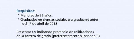 Llamado para la preselección de candidatos a Becarios Doctorales CONICET en temas de Trabajo, Trabajadores y Hogares en Espacios Rurales