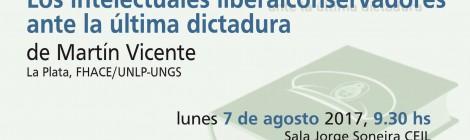 [Presentación de libro] De la refundación al ocaso / Martín Vicente