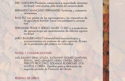 [Publicaciones] Revista Latinoamericana de Estudios Rurales N°3