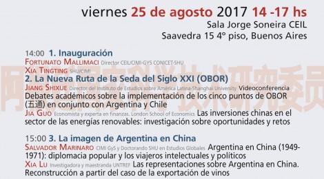 [Jornada Académica Abierta]  China y Argentina: nuevas miradas e investigaciones sobre energías renovables, comercio y relaciones bilaterales