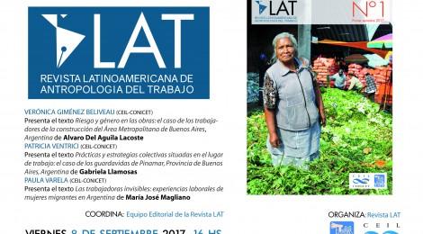[Presentación] Revista Latinoamericana de Antropología del Trabajo N°1