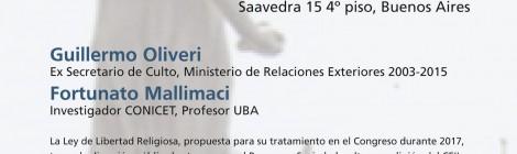 [Charla] La religión en la agenda legislativa / Guillermo Oliveri y Fortunato Mallimaci