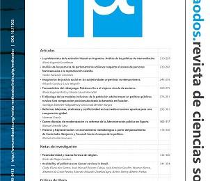 [Artículo] La problemática de la exclusión laboral en Argentina. Análisis de las políticas de intermediación en el período 2004-2016 / Eugenia Sconfienza