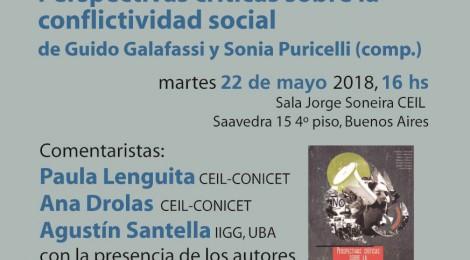 [Presentación del libro] Perspectivas críticas sobre la conflictividad social de Guido Galafassi y Sonia Puricelli (comp.)