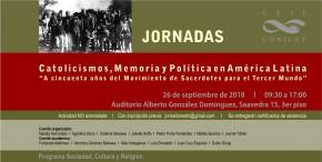 Flyer Jornadas MSTM 2018