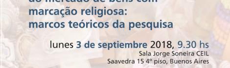 [Conferencia] Para a análise sociocultural do mercado de bens com marcação religiosa / Daniel Alves