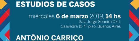 [Conferencia] Miradas antropológicas sobre el trabajo desde Brasil a partir de dos estudios de casos / Antônio Carriço