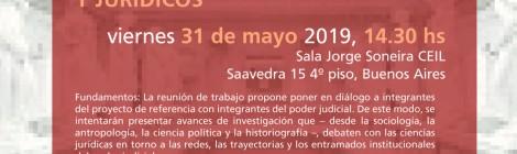 [Reunión de trabajo] Ciencias sociales y poder judicial: algunos debates sociológicos, antropológicos, politológicos y jurídicos