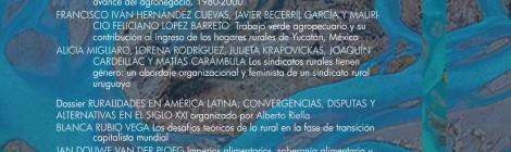 [Publicaciones] Revista Latinoamericana de Estudios Rurales N°7