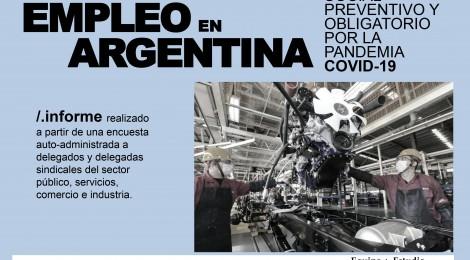 [Informe] La situación del empleo en Argentina durante el aislamiento social, preventivo y obligatorio
