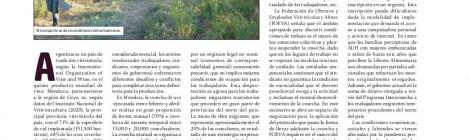 [Artículo] Vulnerabilidad y precariedad de los cosecheros en Argentina / María Brignardello, Raúl Novello y Germán Quaranta