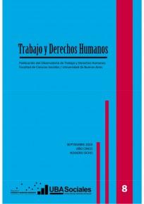 Trabajo y Derechos Humanos # 8 tapa